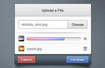 Upload Dialog